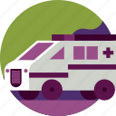 aid, ambulance, car, healthcare, hospital, medical, transport icon