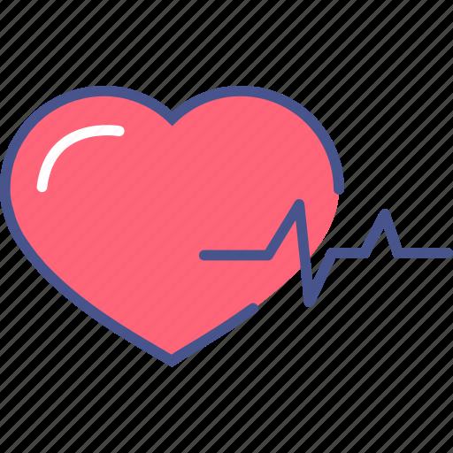 cardio, healthcare, heart, medicine, pulse icon
