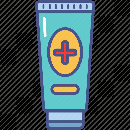 health, healthcare, medicine, ointment icon