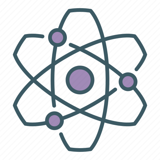 Atom, nuclear, physics, science icon - Download on Iconfinder