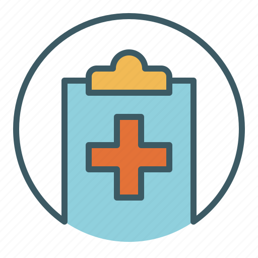 Circle, document, file, health care, medical, report, write icon - Download on Iconfinder