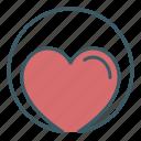 charity, circle, health, heart, love