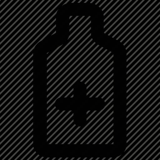 bottle, drugs, medicine bottle, medicine jar, pills, syrup icon