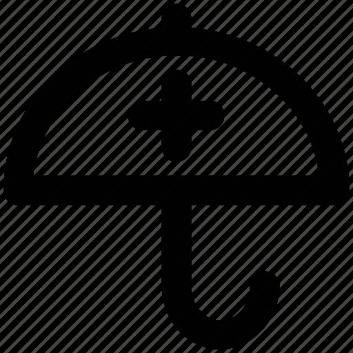 medical protection, parasol, protection, protection umbrella, umbrella, winter season icon