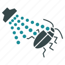 acarus, aerosol, bug control, dead cockroach, disinfection, insecticide, spray icon