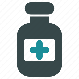 container, drug phial, medical, medication, medicine, pharmaceutical, pharmacy icon