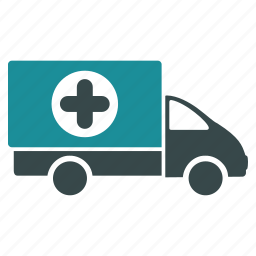 delivery, hospital, medical business, medicine, shipping, transport, truck icon