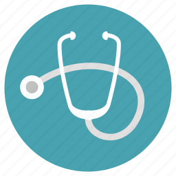 doctor, med, medical, stethoscope icon