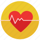 cardiac, doctor, health, heart, heart beat, hospital, medical icon