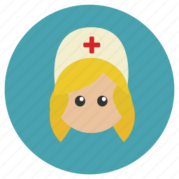 care, girl, hospital, medical, nurse, woman icon