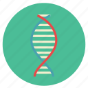 dna, genetic, hospital, medical, research, science icon
