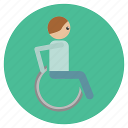 handicap, hospital, medical, wheel chair, wheels icon