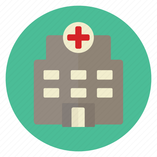 building, clinic, healing, hospital, medical, treatment icon