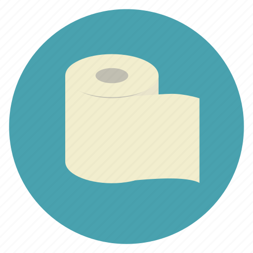 medical, paper, roll, tissue, toilet icon