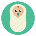 baby, birth, born, child, cute, hospital, medical, new born, toddler icon