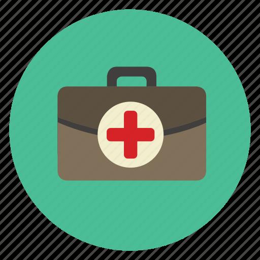 bag, color, doctor, hospital, medecine, medical icon