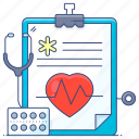 diagnosis, health report, medical report, doctor report, prescription