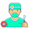 surgeon, doctor, medicine, healthcare, treatment