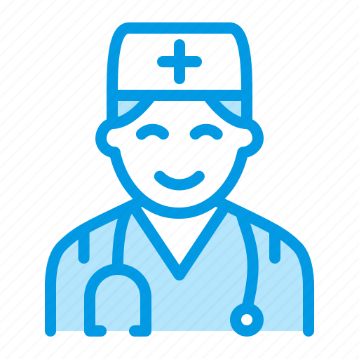 doctor, male, medical, pediatrician icon