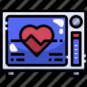 cardiogram, clinic, electrocardiogram, health, hospital, medical, stats icon