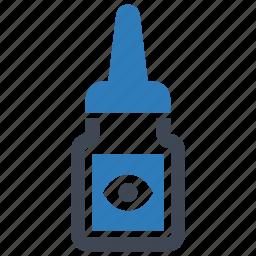 dropper, drops, eye icon