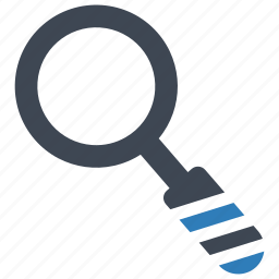 loupe, mini, search icon