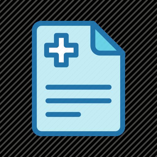 file, medical, prescription, record icon
