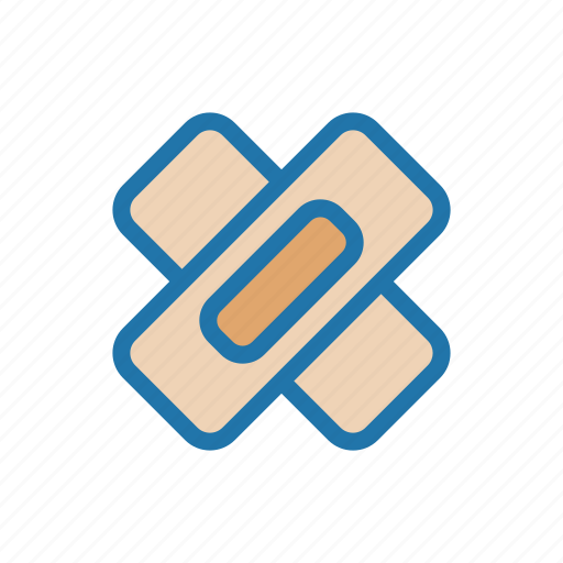 band, medical, plaster, wound icon