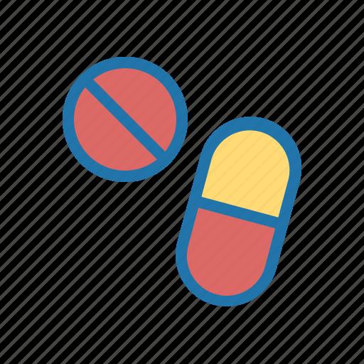 capsul, drugs, medicine, pill, tablet icon
