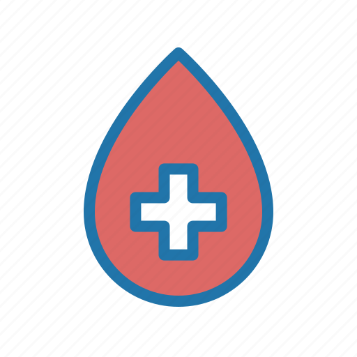 blood, donor, drop, type icon