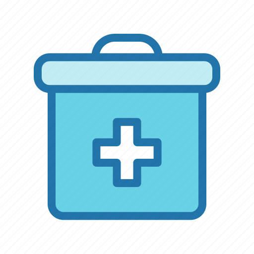 aid, box, doctor, first, kit icon
