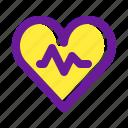 disease, graph, heart, icon, medical, medical icon, medicine icon