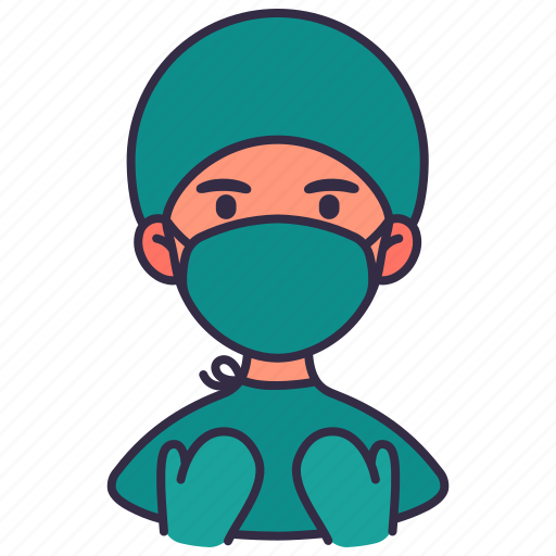 Avatar, doctor, healthcare, man, medical, people, surgeon icon - Download on Iconfinder