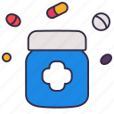drug, healthcare, hospital, medical, medicine, pharmacy, pills icon