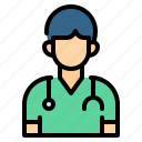 avatar, doctor, hospital, medical, physician, stethoscope, surgeon