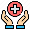 care, hand, health, healthcare, hospital, medical, red cross