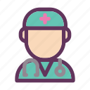 doc, doctor, healthcare, healthy, hospital, medical, physician icon