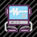 cardiogram, ecg, electrocardiogram, healthcare, healthy, medical, monitor