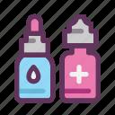eyedropper, healthy, liquid, medical, medicine, pick, substance icon
