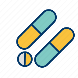 drugs, medicine, pills, tablets icon