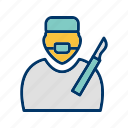 doctor, operation, surgeon, surgery icon