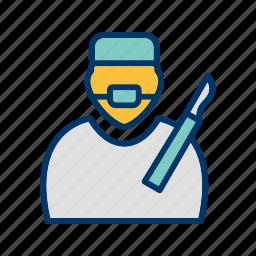 doctor, operation, surgeon, surgery icon