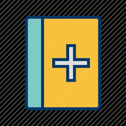book, brochure, doctor, education, medicalbook, science, study icon