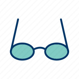 eye, eyeglasses, glasses, see, sunglasses, view, vision icon