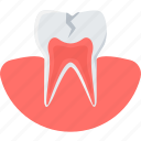 cavity, dental, dentist, dentistry, medical, teeth, tooth icon