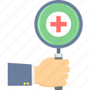 medical, search, emergency, firstaid, health, healthcare, red cross icon