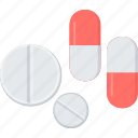 medicine, drugs, medication, medications, pharmacy, pills, prescription icon