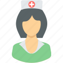 nurse, assistant, doctor, gyane, hospital, medical, physician icon
