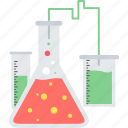 alchemy, beaker, lab, laboratory, science, test, tube icon