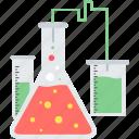 test, alchemy, beaker, lab, laboratory, science, tube